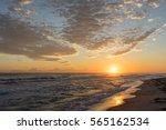 Bright Sun Over Mediterranean...