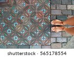 beautiful ceramic tiles   Shutterstock . vector #565178554