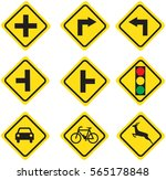 Traffic Sign Yellow