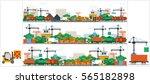 set stock vector illustration...   Shutterstock .eps vector #565182898