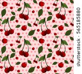 a seamless pattern with...   Shutterstock . vector #565185880