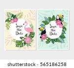 "cute cartoon ""save the date""...   Shutterstock .eps vector #565186258"