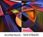 plane division series.... | Shutterstock . vector #565198600