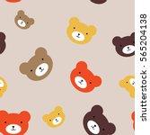 fun seamless pattern texture...   Shutterstock .eps vector #565204138