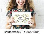 internet social platform media...   Shutterstock . vector #565207804