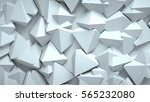 abstract triangular background  ... | Shutterstock . vector #565232080