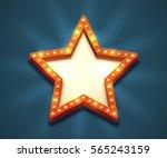 Beautiful Star Shaped Retro...