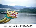 dragon head on the dragon boat. | Shutterstock . vector #565246459
