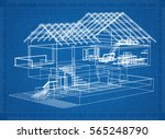 Architectural Blueprint Of A...
