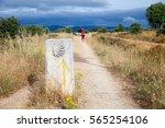 astorga countryside  spain  ... | Shutterstock . vector #565254106