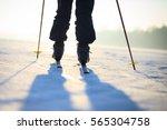active senior man cross country ... | Shutterstock . vector #565304758