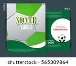 soccer football tournament... | Shutterstock .eps vector #565309864
