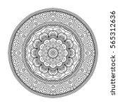 mandala. ethnic round ornament. ... | Shutterstock .eps vector #565312636