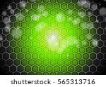 green abstract template for... | Shutterstock . vector #565313716