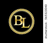 initials b and l logo luxurious ...