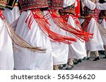 Romanian Dancers In Traditiona...