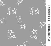seamless pattern with stars.... | Shutterstock .eps vector #565350814