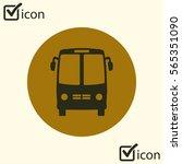 bus icon. schoolbus symbol....   Shutterstock .eps vector #565351090