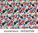 the beautiful of art fabric... | Shutterstock . vector #565365208