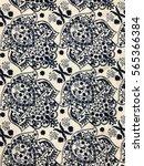 Small photo of The beautiful of art fabric Batik Pattern
