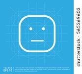 smiley icon  face icon | Shutterstock .eps vector #565369603