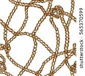 elegant vector seamless pattern ... | Shutterstock .eps vector #565370599