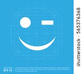 emoji icon | Shutterstock .eps vector #565376368