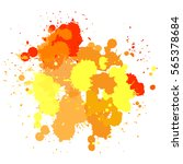 color background of paint... | Shutterstock .eps vector #565378684