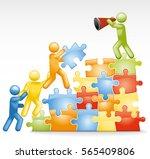 Team Building A Jigsaw