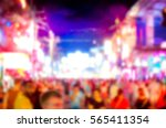 blurred abstract background of... | Shutterstock . vector #565411354
