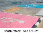 sign parking car for pregnant... | Shutterstock . vector #565471324