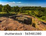 ethiopia  lalibela. monolithic... | Shutterstock . vector #565481380