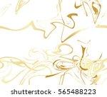 marble gold texture seamless... | Shutterstock .eps vector #565488223