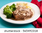 Spicy Meatloaf With Mashed...