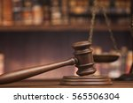 judge gavel and scales of