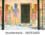 Traditional Paintings On House...