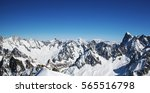 French Alps Panorama From...