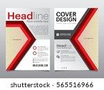 brochure  flyer  leaflet ... | Shutterstock .eps vector #565516966