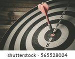ready for firing a target ... | Shutterstock . vector #565528024