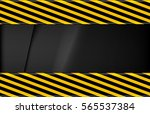 the warning tape | Shutterstock .eps vector #565537384