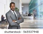 confident stylish handsome... | Shutterstock . vector #565537948