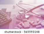 medical marketing and... | Shutterstock . vector #565593148