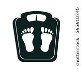 balance measure weight icon | Shutterstock .eps vector #565610740