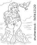 Vertical Coloring Page With...