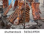 An Asado Is A Roasted Meat Of...