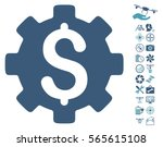 development cost icon with... | Shutterstock .eps vector #565615108