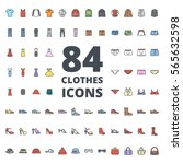 clothes colored icon | Shutterstock .eps vector #565632598