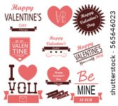 happy valentines day. i love you | Shutterstock .eps vector #565646023