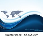 vector map design | Shutterstock .eps vector #56565709