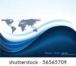 vector map design | Shutterstock .eps vector #56565709